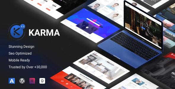 Karma wordpress Theme