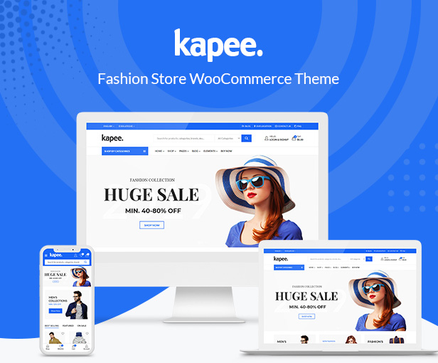 Kapee - Fashion Store WooCommerce Theme