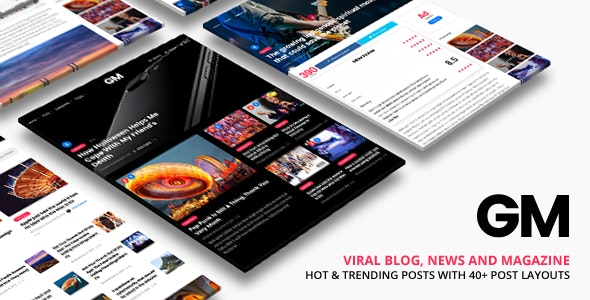Grand Magazine Theme Wordpress