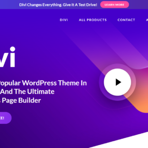 Divi Builder WordPress-Theme-Visual-Page-Builder